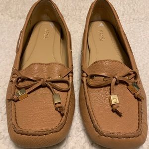 Michael Kors Tan Loafers Boat Shoes - Sz 8 M